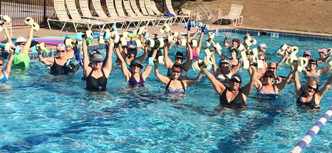 fitness water aerobics