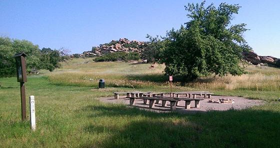 Bradford camp site